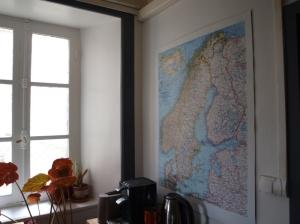Carte murale Scandinavie