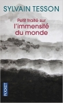 Tesson immensité du monde
